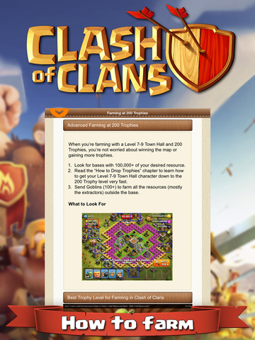 Guide and tools for clash of clans on the app store