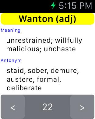 GRE Words iPhone Screenshot 6