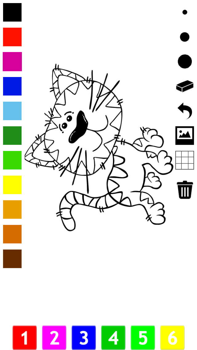 download A Coloring Book for Little Children: Learn to draw and color cat and kittens apps 1