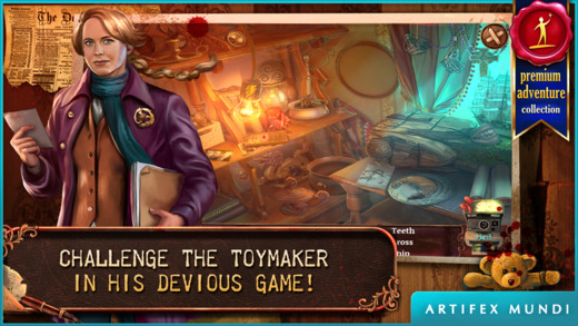 Deadly Puzzles: Toymaker - Hidden Object Game