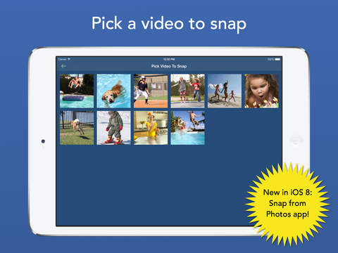 SnapStill - Extract Photos From Video Screenshot