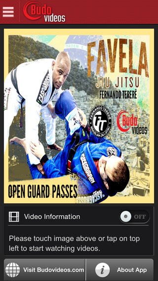 Fernando Terere Favela BJJ Vol. 1 Open Guard Passes