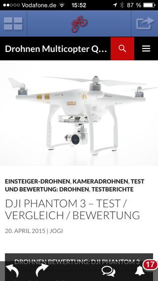Drohnen - Multicopter - Quadrocopter