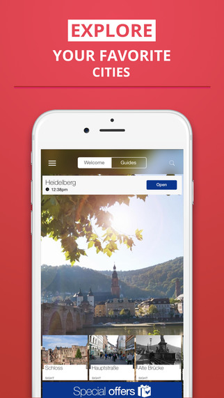 Heidelberg - your travel guide with offline maps from tripwolf guide for sights restaurants and hote