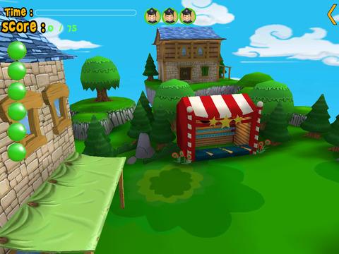 Turtles carnival shooting for kids iPad Screenshot 1