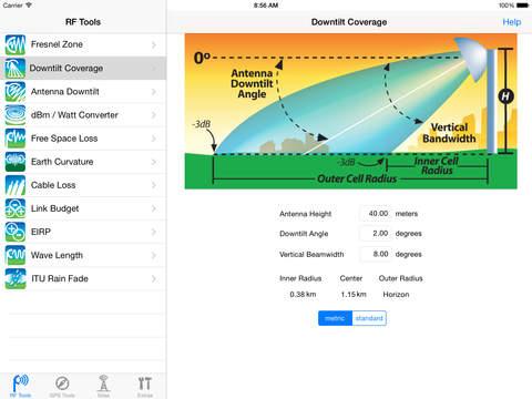 RF Toolbox iPad Screenshot 2