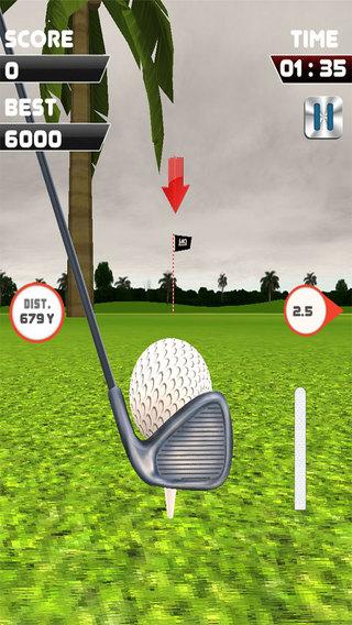 Golf Shot Flick
