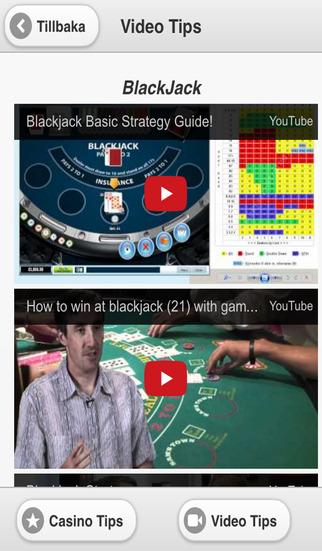 【免費遊戲App】Casino Guide - Gratis Tips och Kampanjer för Svenska Kasinon-APP點子