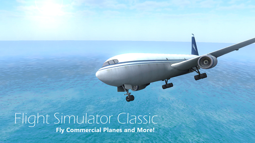 Flight Simulator Classic 2015 - FREE Pilot flying and parking aircraft flight simulation game