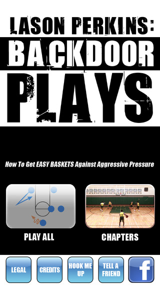 Backdoor Plays: Scoring Playbook - with Coach Lason Perkins - Full Court Basketball Training Instruc