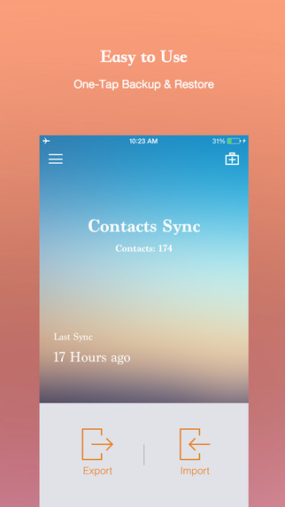 Contacts Sync Backup Merge Cleanup and Transfer Tools