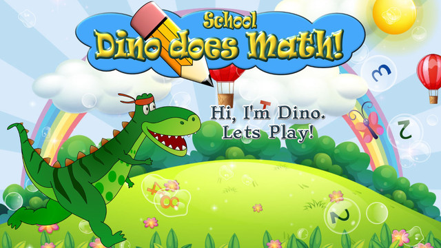 Dino goes to School: 18 Fun Math Games and Activities for Kids