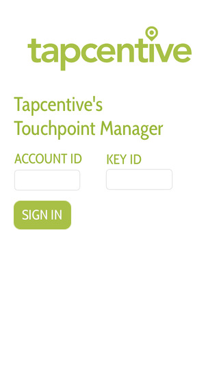 Tapcentive Touchpoint Manager