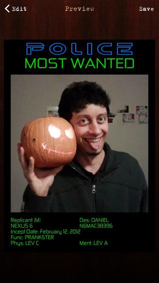 通缉令制作器:Wanted Poster Pro【再现恶搞】