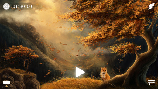 Windy ~ Sleep Relax Meditate with natural white noise sounds to calm your mind and focus Screenshots