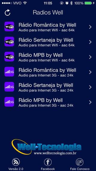Rádios Well
