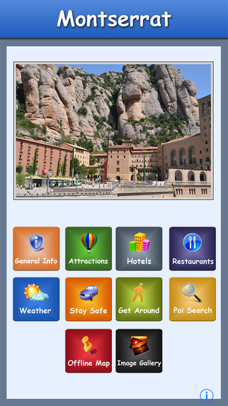 Montserrat Offline Map Travel Guide