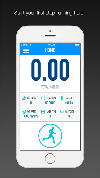 RunTracker : Running Walkin Jogging Workout Calorie Tracker Fitness Tracker Free Version