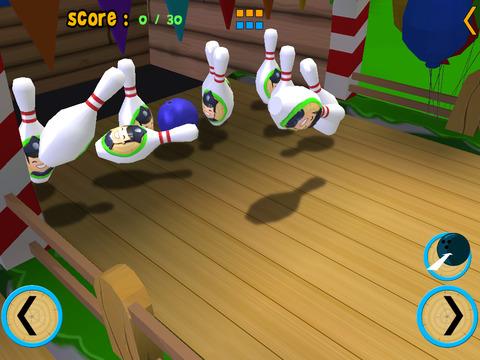 Horse bowling for kids iPad Screenshot 4