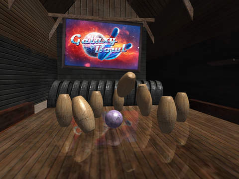 Galaxy Bowling HD screenshot