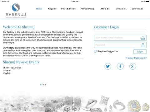 Shrenuj for iPad