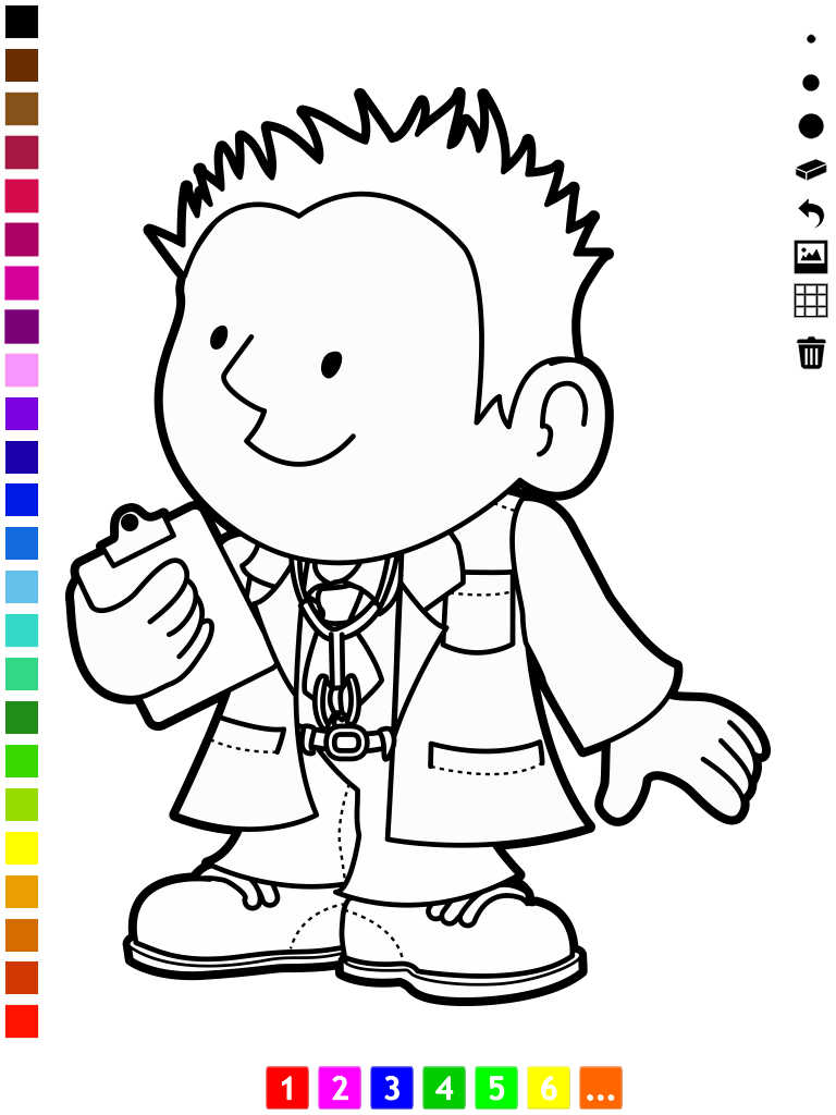 App Shopper A Coloring Book Of Occupations For Children