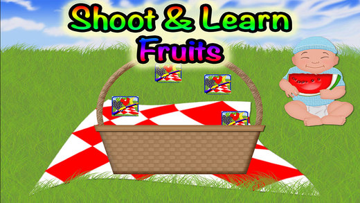 Fruits Hunt Preschool Learning Experience Target Game