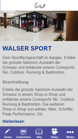 WALSER SPORT
