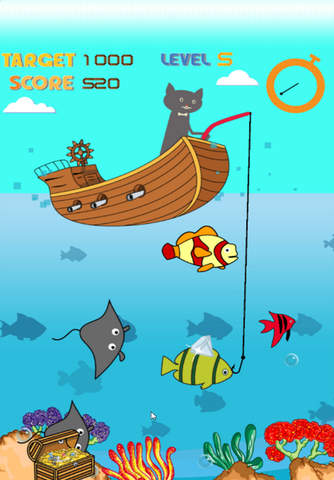 All about magnetic cat fishing games for kids catch fish for Cat fishing game