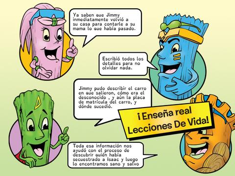 Desconocidos: El Secuestro Ku - Neon Tiki Tribe - Espanol Screenshots