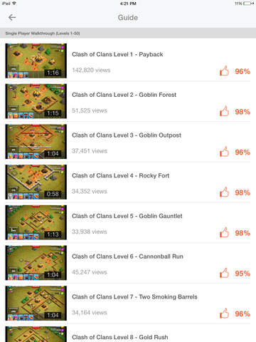 Video Guide for Clash of Clans screenshot