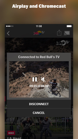 Red Bull TV Screenshots