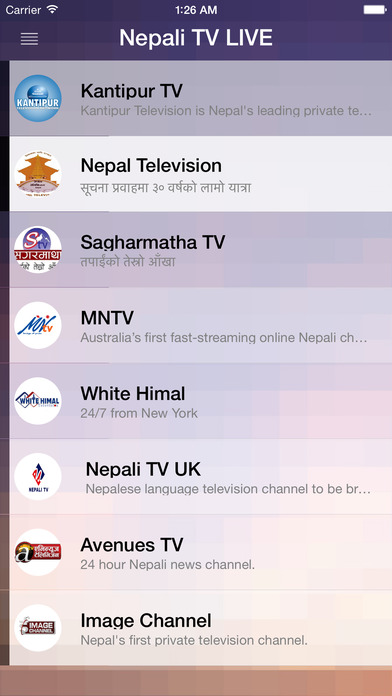 Nepali TV LIVE on the App Store