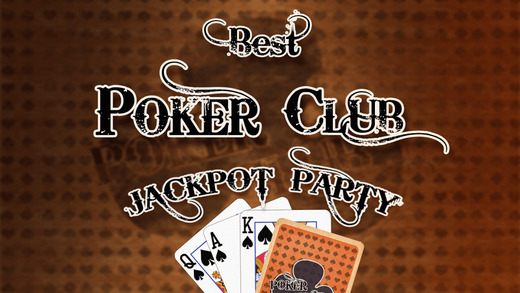 Best Poker Club Jackpot Party - top casino card game