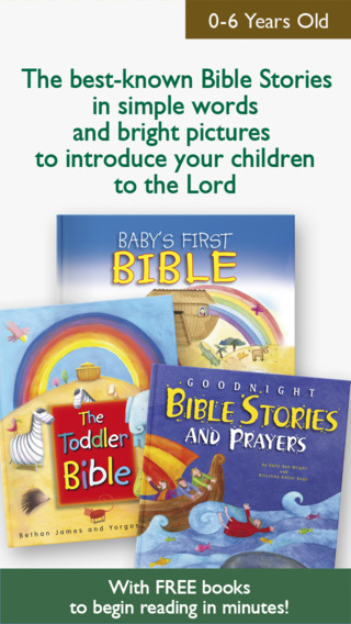Bible for Kids – My First Bible Stories app with Picture Books Christian Prayers and Religion Lesson
