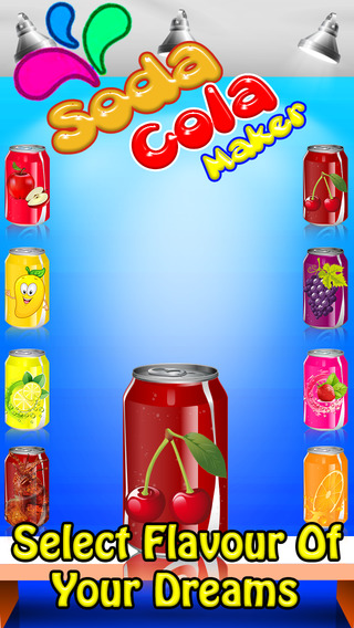 Soda Cola Maker - cooking games for Kids girls