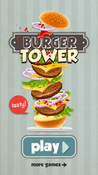 Burger Tower Game