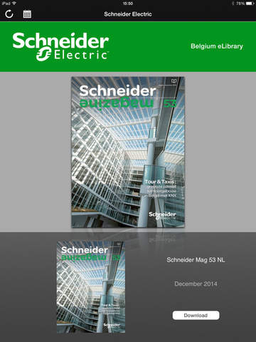 Schneider Electric Belgium eLibrary