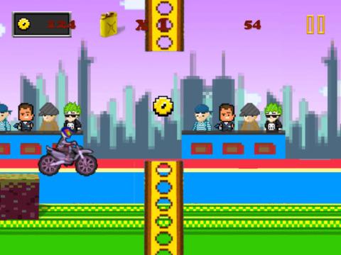 Acrobatic Motorcycle Stuntman Racing : Extreme Backflip Excitement FREE iPad Screenshot 3