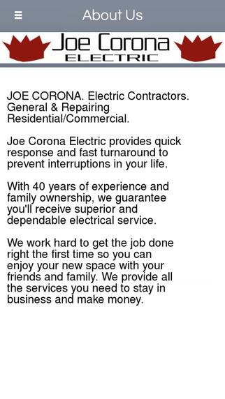 Joe Corona Electric - Palm Desert