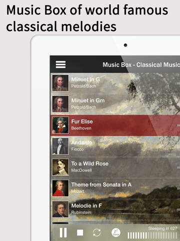 Dream Music Box - Classical Music & Natural Ambience for Sleeping & Relaxation screenshot