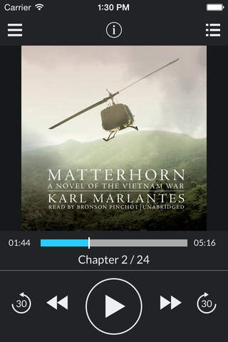 Matterhorn: A Novel of the Vietnam War (by Karl Marlantes) (UNABRIDGED AUDIOBOOK) screenshot 1