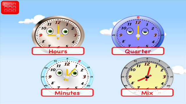 Learn Clock: Telling Time for Kids 1st Grade
