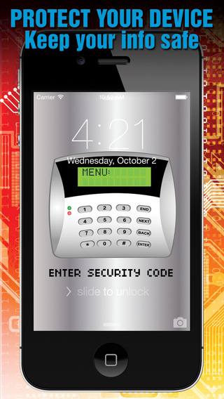 Simple Lock Screen Security - Keep your Device Safe with Wallpapers