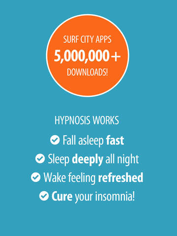 The best iphone apps for hypnosis apppicker sleep well hypnosis free cure insomnia with guided relaxation ambient sleeping sounds screenshot ccuart Images