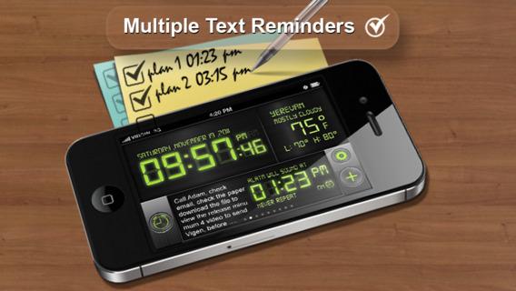酷闹钟:Cool Alarm Clock & Day Reminder【多工能实用工具】
