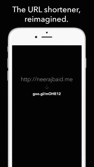 URL Shortener for Google's goo.gl