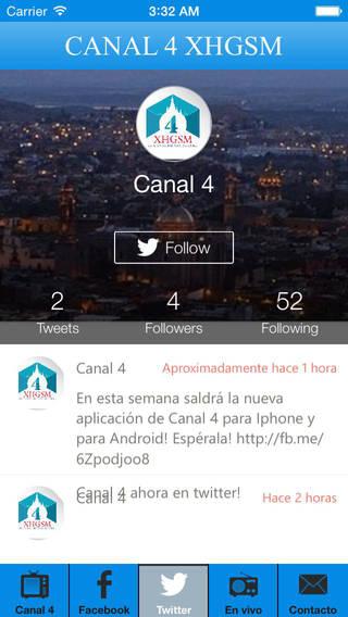 Canal 4 XHGSM