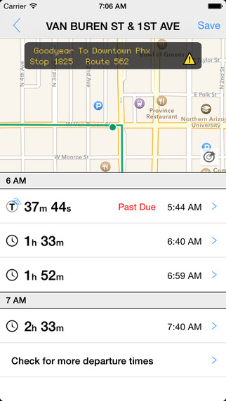 Transit Tracker - Phoenix VM