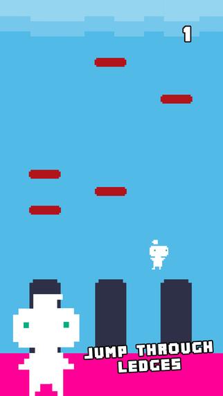 Pixel Drop - Line Jumper